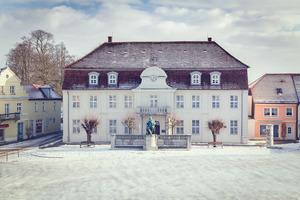 winterliche Ansicht vom Museum