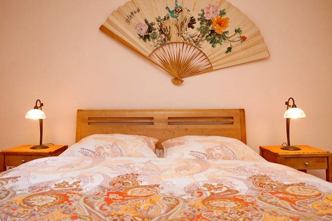 Fewo Ahorn - Schlafzimmer