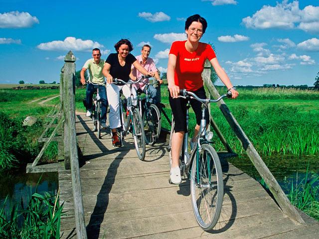 Fahrradtour auf dem Müritz Radrundweg