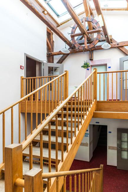 Treppenhaus im Dachgeschoss