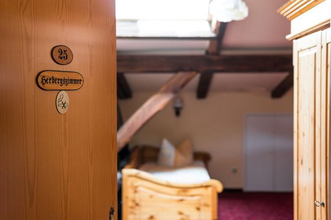 Blick in das Mehrbettzimmer