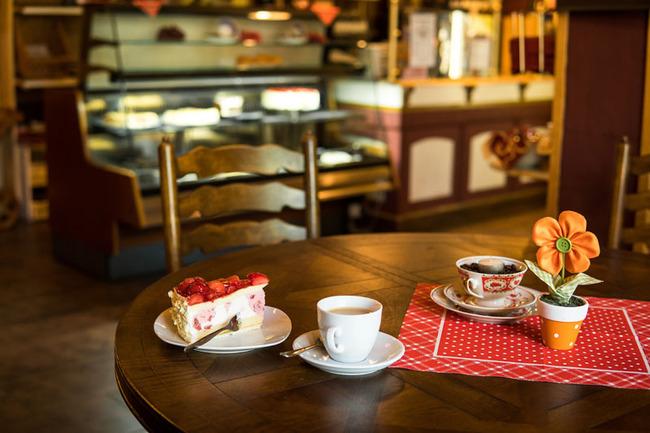 Kaffee und Kuchen in der Kaffeestube