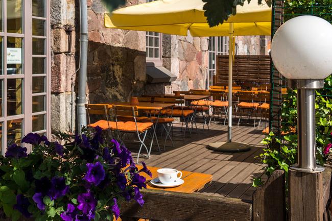 Restaurantterrasse