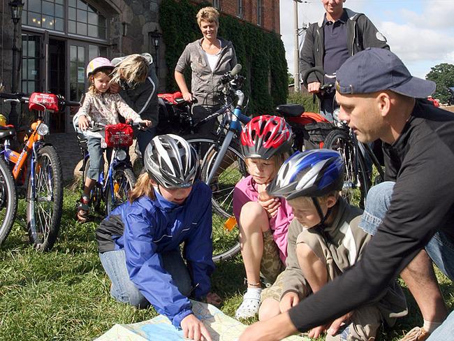 Touren mit dem Fahrrad vom Landhotel in Bollewick