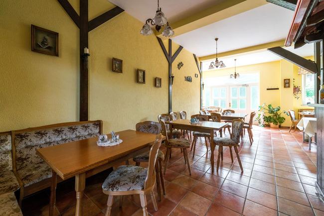 Frühstückssaal, Empfangsbereich, Rezeption