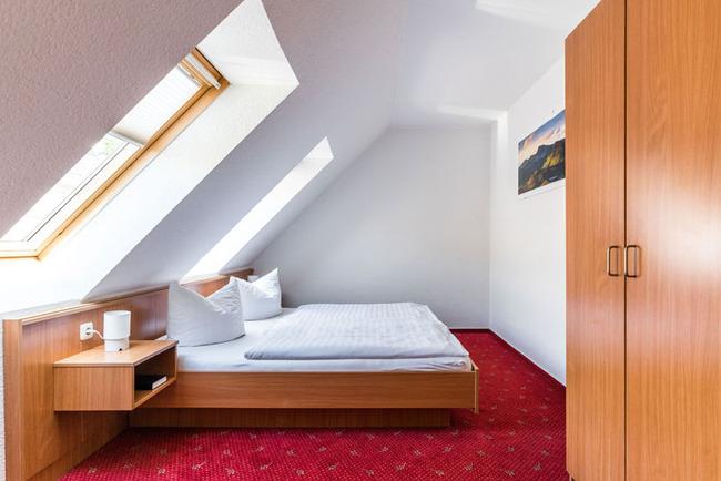 Schlafzimmer in der Masarde