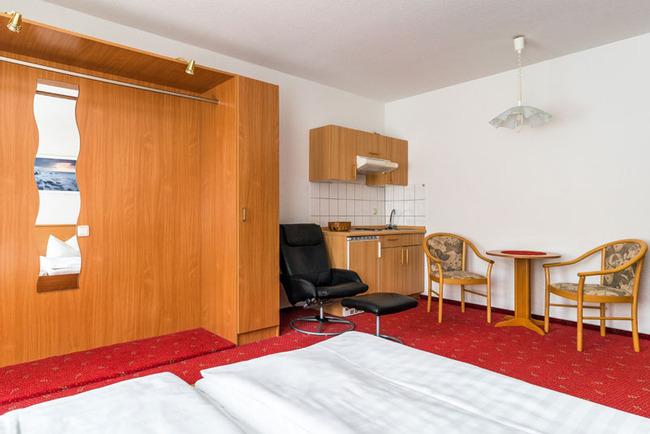 Doppelzimmer mit Pantryküche