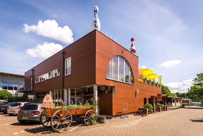 Außenansicht Brauhaus in Waren (Müritz)