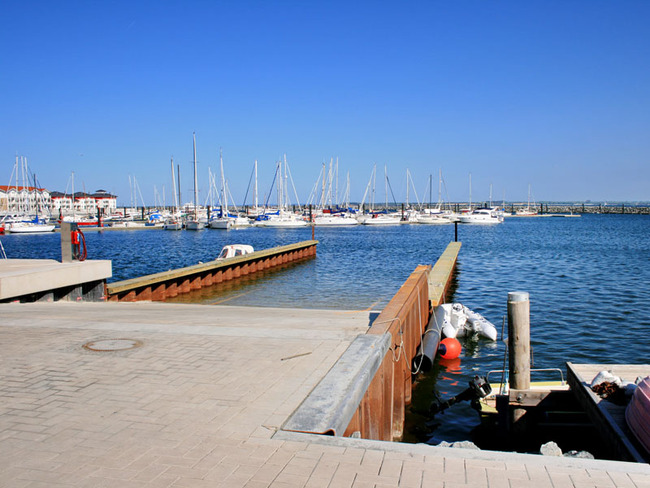 Yachthafen an der Weißen Wiek in Boltenhagen
