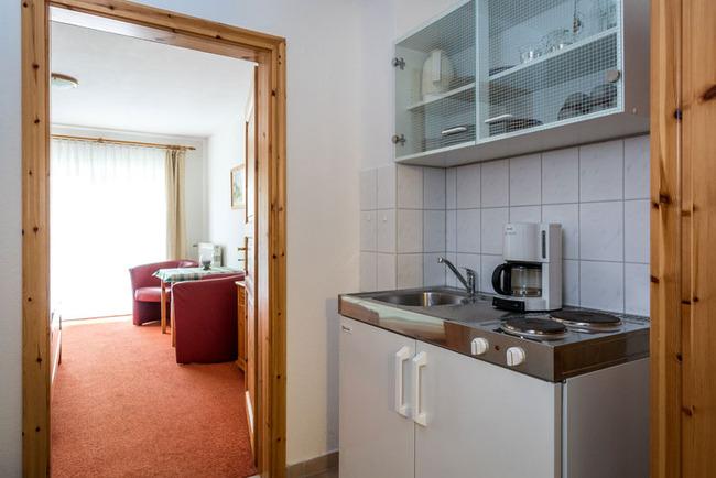 Pantryküche im Appartement