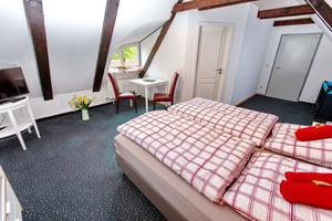 modernes und gemütliches Doppelzimmer