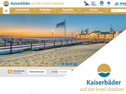 Tourismusportal - Kaiserbäder (Insel Usedom)