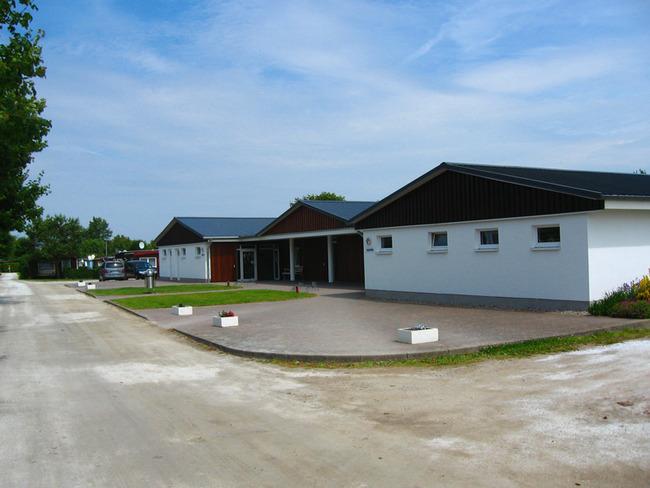 Waschhaus auf dem Campingplatz