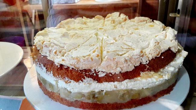 lecker zubereitete Torte
