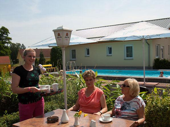 """Gastronomie in der Ferienanlage """"Zum See"""""""