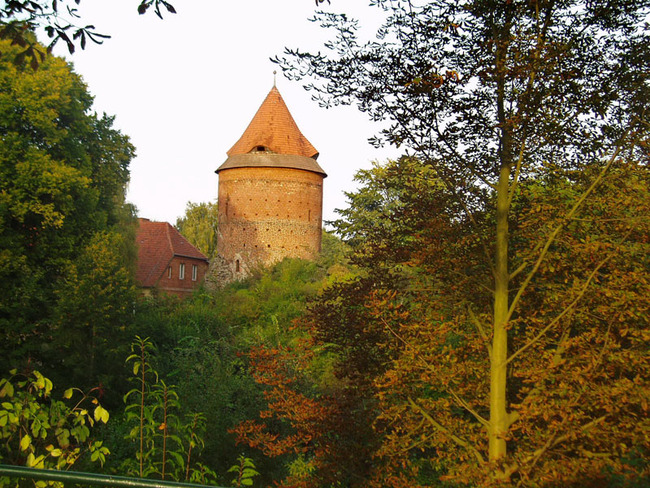 Plauer Burgturm aus dem 15. Jahrhundert