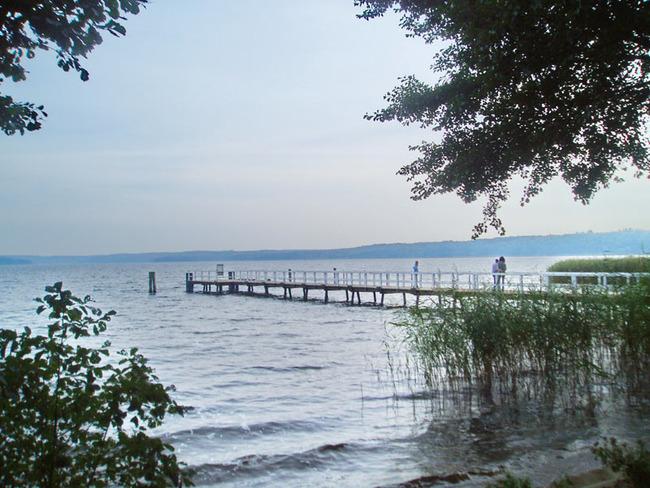 Steg am Plauer See
