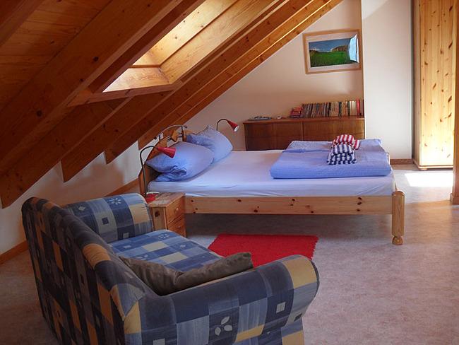 Ferienhaus Wiebke - Schlafgalerie im Obergeschoss