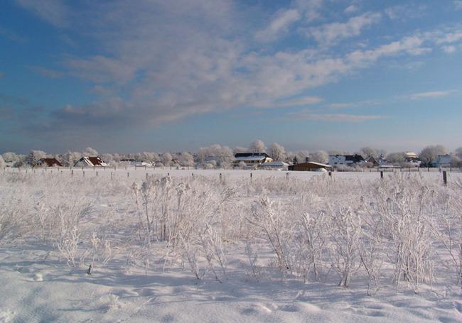 Winteridylle im Seebad Lubmin