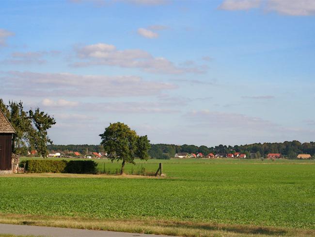 Landschaft nahe der Ortschaft Sukow