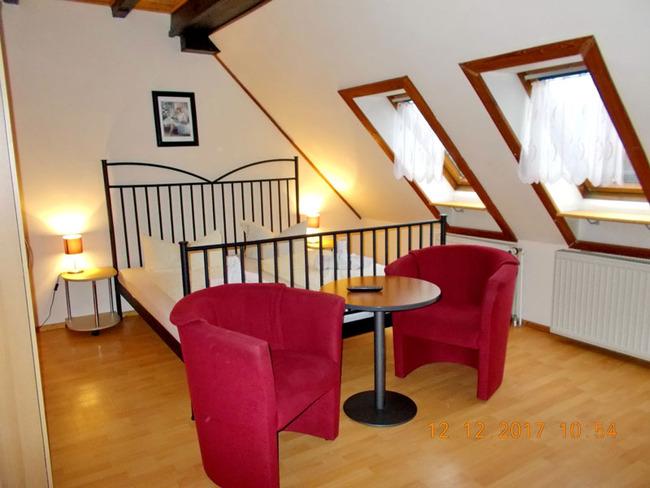 Ferienzimmer als Doppelzimmer