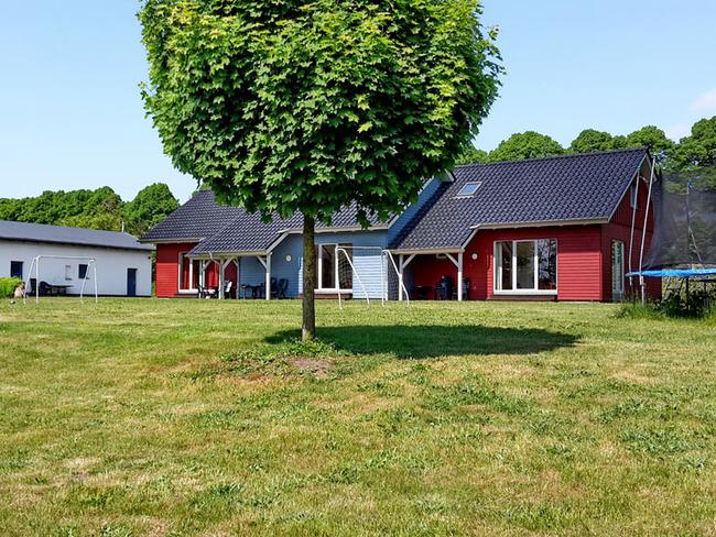 Ferienhäuser mit Terrassen