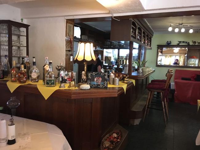 Bar im Gastraum