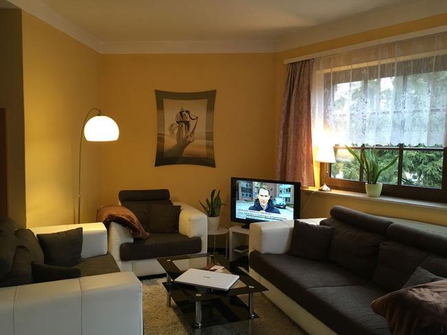 Wohnraum vom Familienzimmer