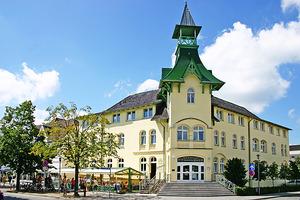 Hotel Dünenschloß - Aussenansicht