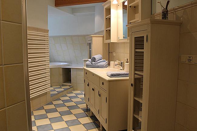 Appartement IV - Bad mit Waschtisch