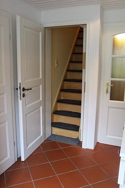 Treppe zum Appartement IV