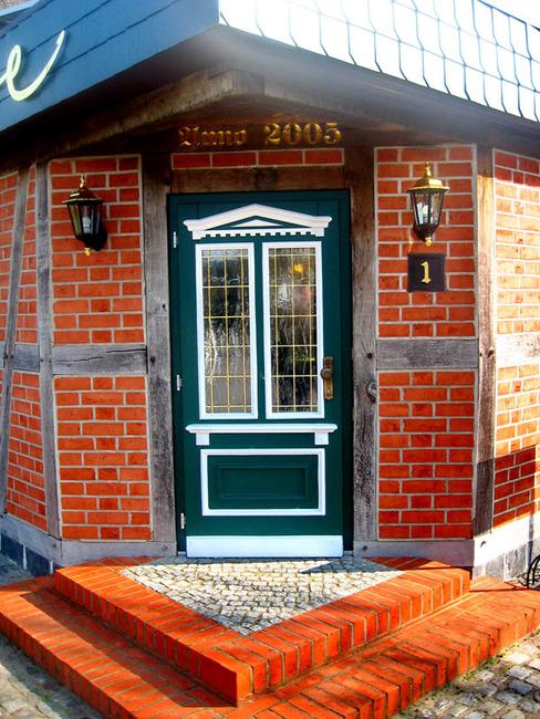 Eingangstür zum Cafè