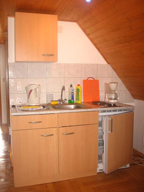 Ferienwohnung mit Küchenzeile