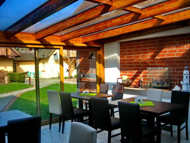 Wintergarten vom Café