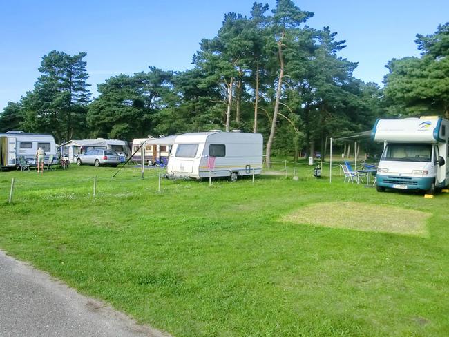 Stellplätze für Wohnwagen und Wohnmobile
