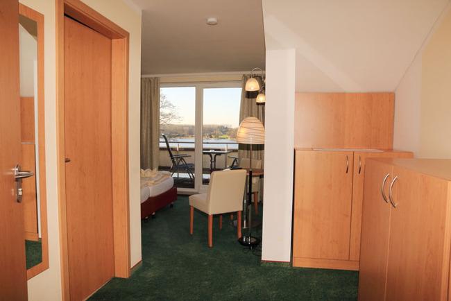Blick ins Doppelzimmer