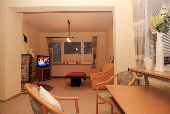Appartement: Wohnraum