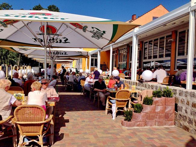 Außenterrasse vom Restaurant