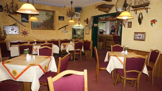 maritim dekoriertes Restaurant