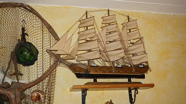 maritime Deko - Model vom Segelschiff