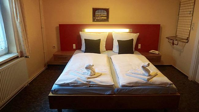 Zimmer 1 - Doppelbett