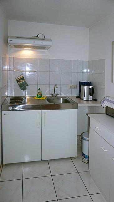 Ferienhaus mit kleiner Küche