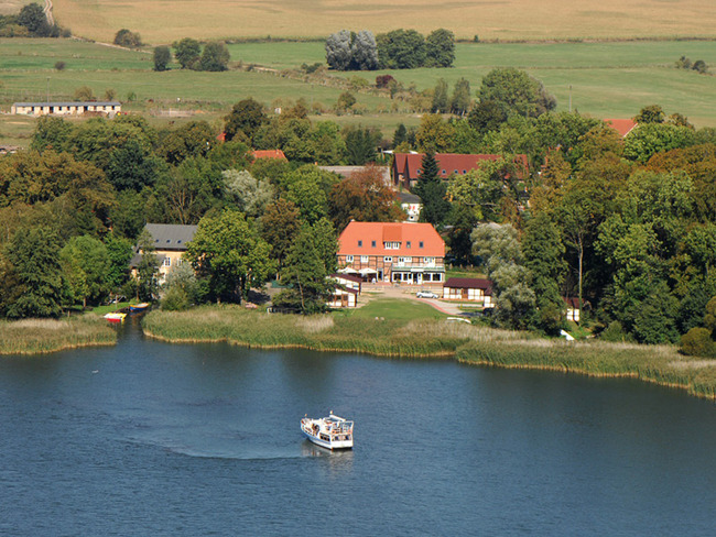 Luftbild von der Ferienanlage
