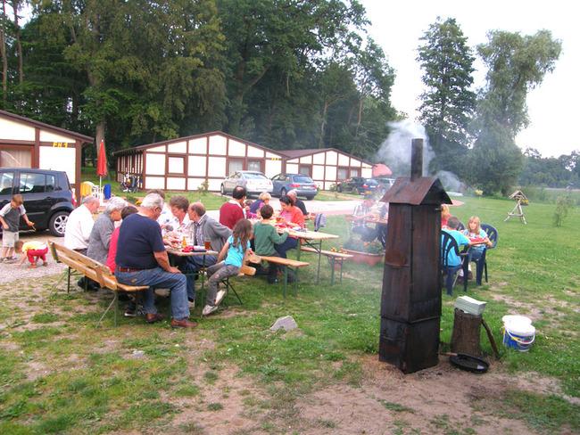 Räucherfest in der Ferienanlage