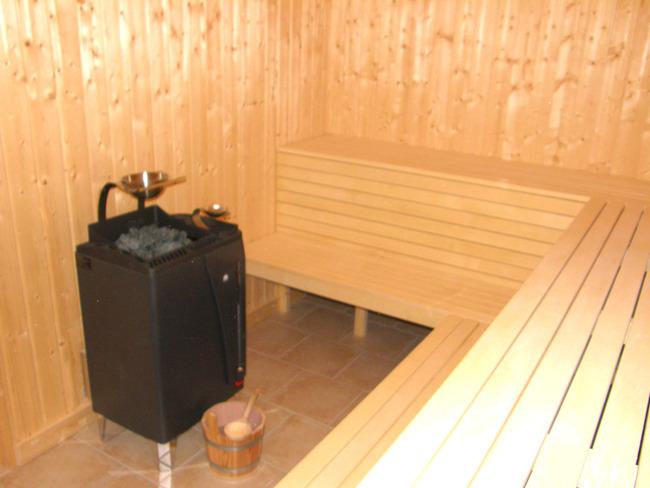 Sauna in der Ferienanlage