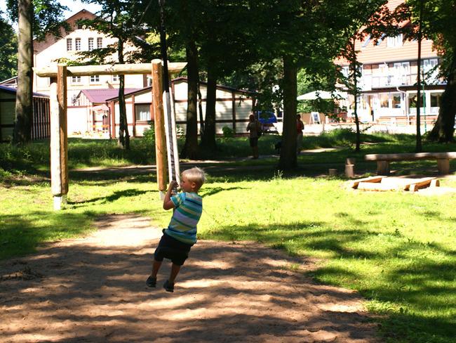 Seilrutsche für Kinder