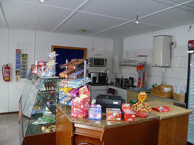 Kiosk mit Camperbedarf