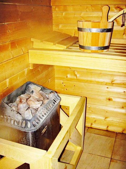 Sauna für eine entspannende Auszeit