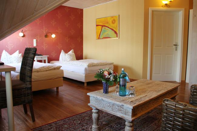 Doppelzimmer mit 2 Einzelbetten
