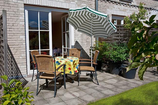Ferienwohnung für 4 Personen: Terrasse